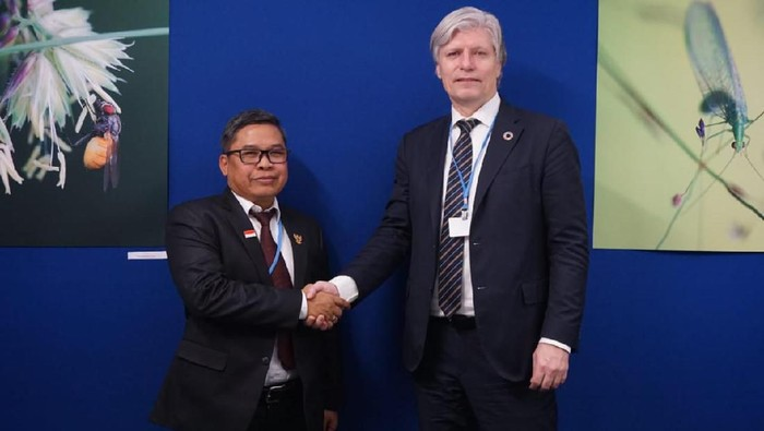 Wakil Menteri Lingkungan Hidup dan Kehutanan Alue Dohong (Dok. Sekretariat Delegasi RI)