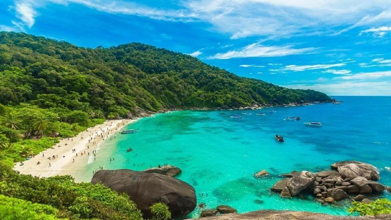 Keindahan Similan Islands di Thailand. (iStock)