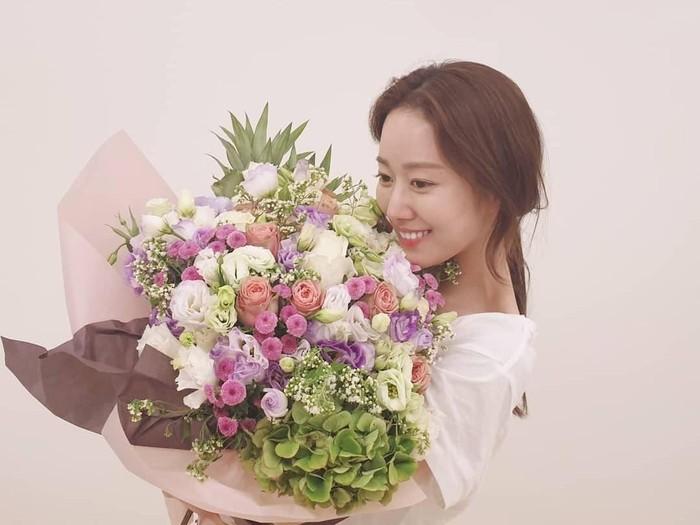 Jeon Hye Bin, artis drakor resmi menikah di Bali. Foto: Instagram @heavenbin83