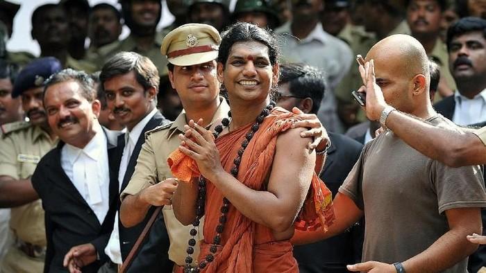 Swami Nityananda (AFP Photo)