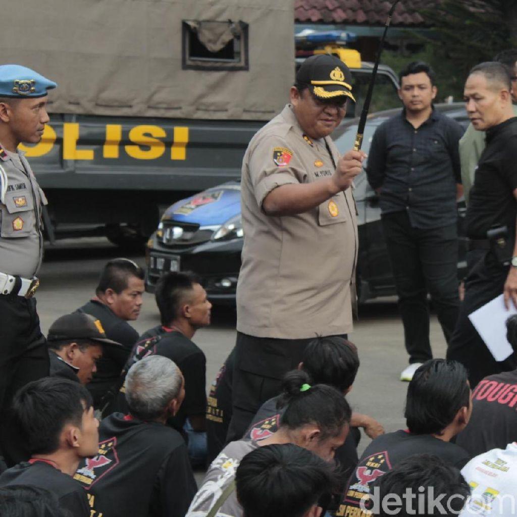 Bikin Rusuh di Kantor Leasing, 48 Anggota LSM Diamankan