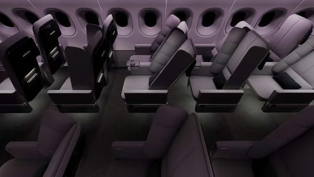 Desain Baru Kursi Pesawat Ini Bikin Nyaman Tidur
