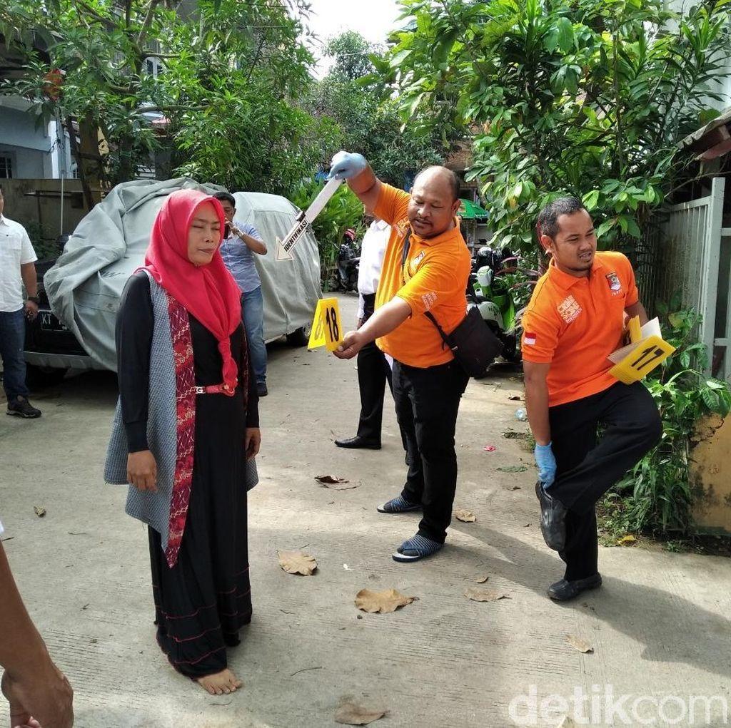 Polisi Gelar Prarekonstruksi Kasus Balita Tanpa Kepala di Samarinda