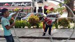 Jalan Sudirman Yogya Bakal Bebas dari Kabel Gelantungan