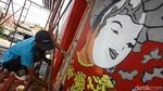 Mural Seni Budaya Hiasi Kolong Flyover Pesing