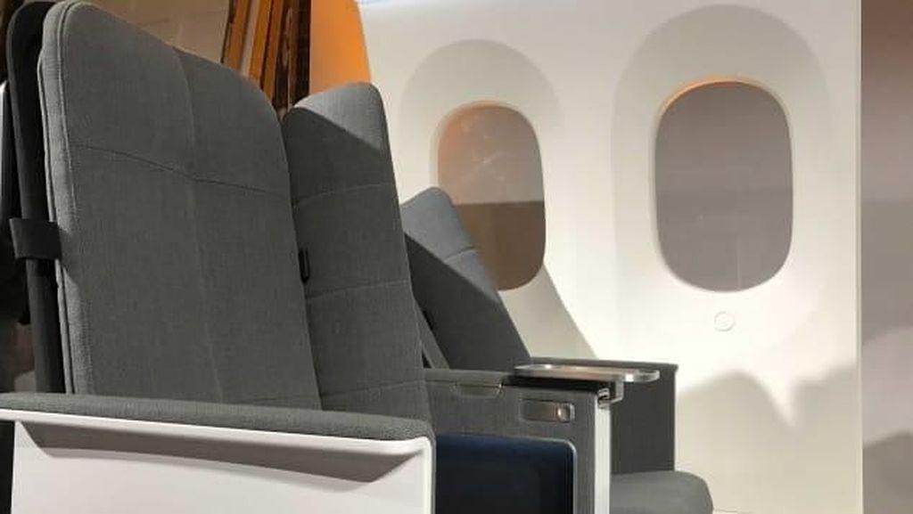 Foto: Kursi Pesawat Yang Enak buat Tidur