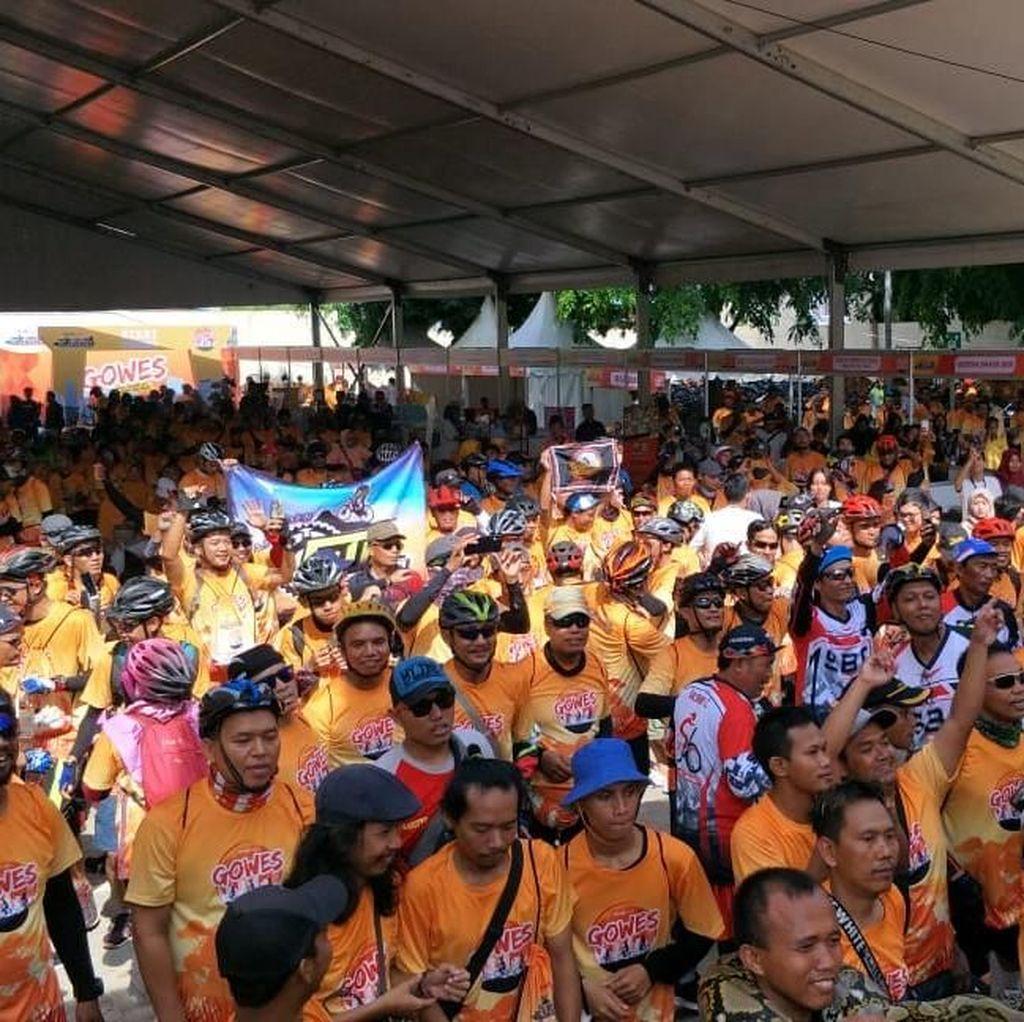 Transmart Sukses Ajak Lari & Gowes Serentak di 5 Kota