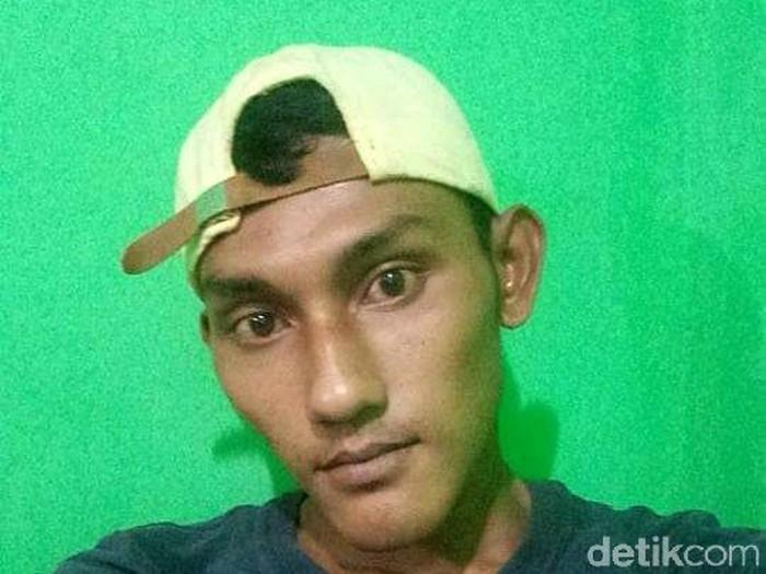 Vije, terduga pembakar rumah pacar di Palembang (Foot: dok. Istimewa)