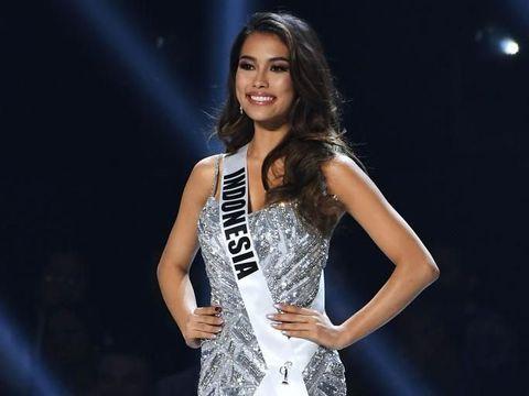 Frederika Alexis Cull berhasil masuk menjadi Top 10 di Miss Universe 2019