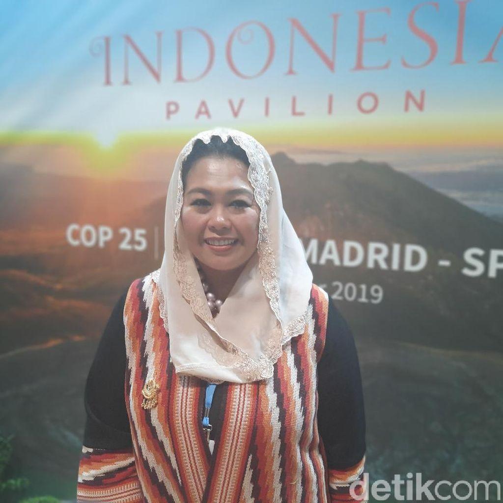 Momen Yenny Wahid Jadi Pembicara di Konferensi Perubahan Iklim