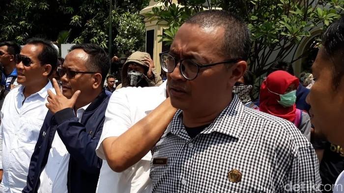 Kader PDIP Solo Ginda Ferachtriawan (Bayu Ardi Isnanto/detikcom)
