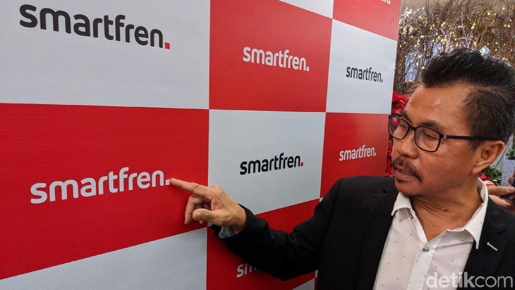 Bos Smartfren Bicara Logo Baru dan 5G