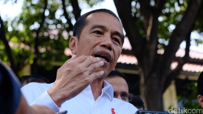 Jokowi (Andhika Prasetia/detikcom)