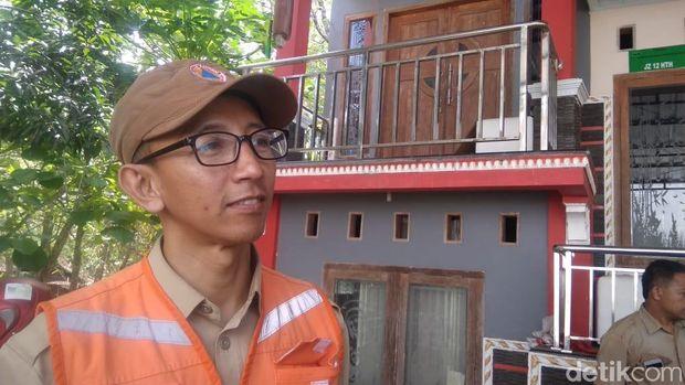 Manajer Pusdalops BPBD DIY, Danang Samsurizal saat memberikan keterangan