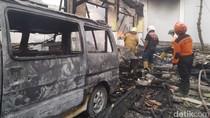 Api yang Bakar Gudang Farmasi RSUD Ploso Diduga Korsleting Listrik AC