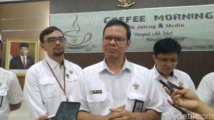 Kepala BPK Perwakilan Provinsi Jateng Ayub Amali/Foto: Angling-detikcom