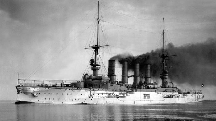 Kapal perang Scharnhorst. Foto: BBC