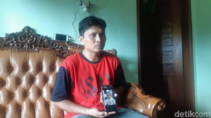 Ayah balita Yusuf, Bambang (Yovanda/detikcom)