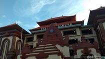 Belum Setahun, Pasar Badung Denpasar Sudah Rusak