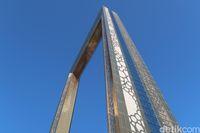 Dubai Frame, Bingkai Foto Terbesar Dunia yang Berlapis Emas