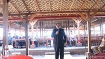Proyek Revitalisasi Pantai Pangandaran Dipastikan Molor