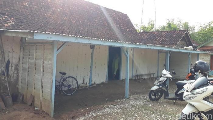 Rumah yang ditempati Putri Nalurita (Ainur Rofiq/detikcom)