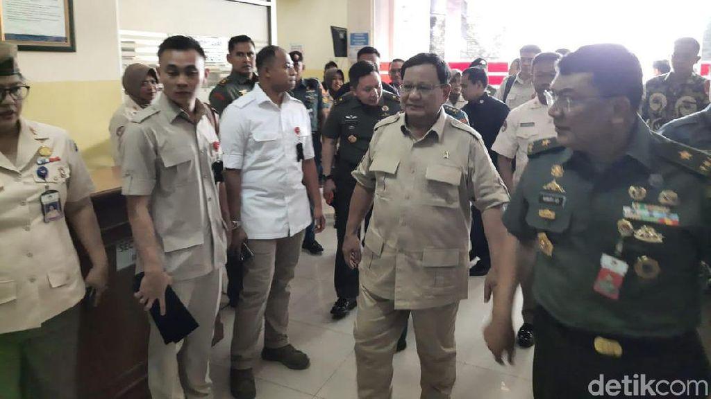 Prabowo: Sesuai Perintah Presiden, Saya Akan Berantas Korupsi Pertahanan