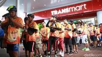 Serunya Gowes Bareng Transmart di Sejuknya Kota Malang