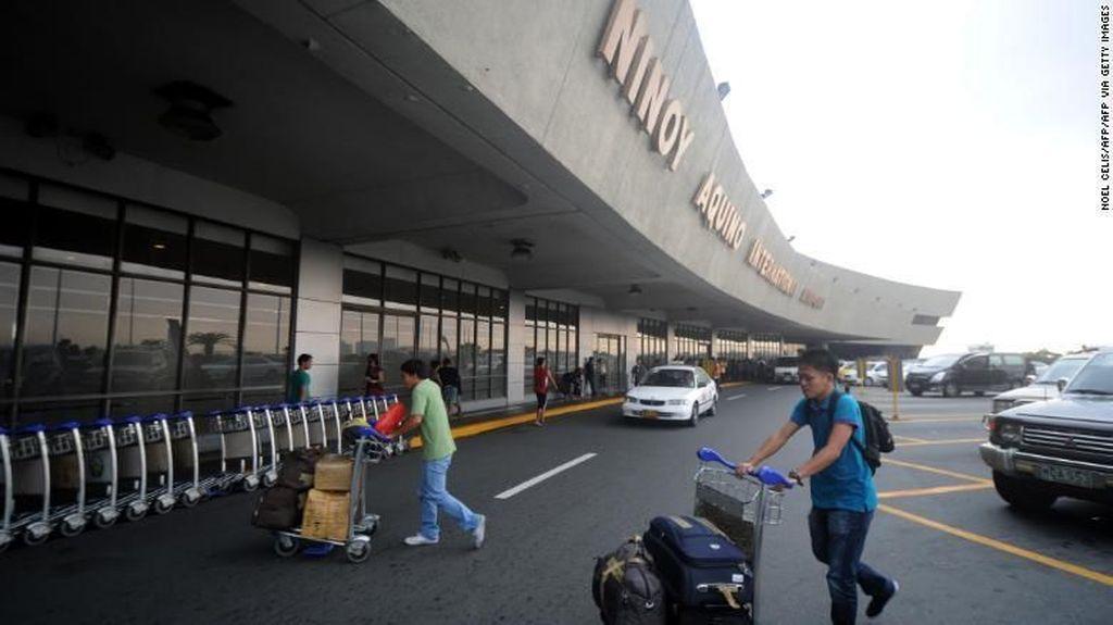 Sesosok Jasad Bayi Ditemukan di Toilet Bandara Manila
