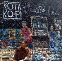 Lukisan 3 dimensi seperti di Magelang ini juga ada di Penang, Malaysia. Tidak kalah lah, 11-12 dengan yang ada di Penang. (Eko Susanto/detikcom)