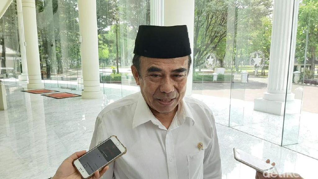 Temui Maruf Amin, Menag Fachrul Razi Laporkan Kesiapan-Kendala Haji 2020