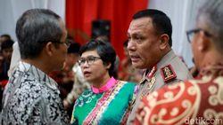 5 Pimpinan KPK Terpilih Hadiri Peringatan Hari Antikorupsi di KPK