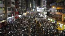 Video: Tren Aksi Damai di Hong Kong