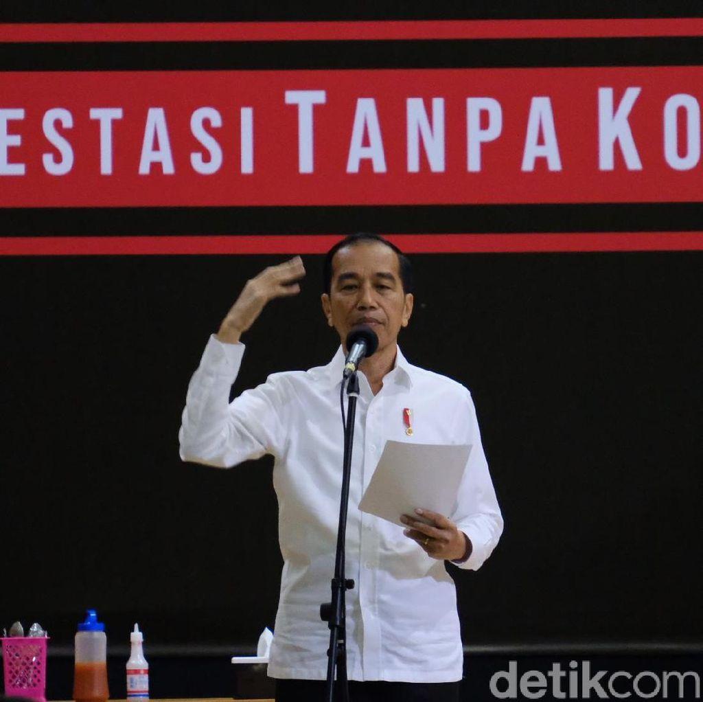 Pesan Pencegahan Korupsi Terus Diulang Jokowi