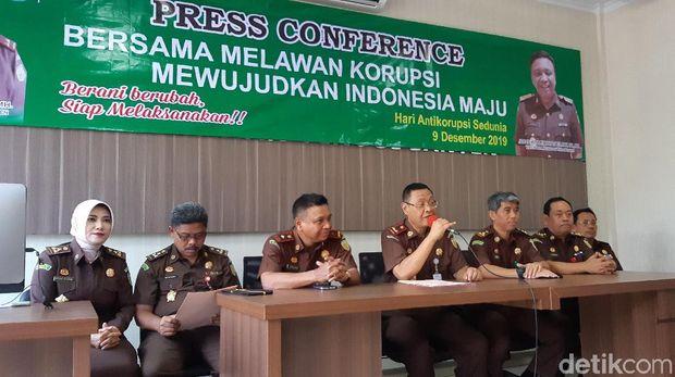 Jumpa pers Kejati Banten