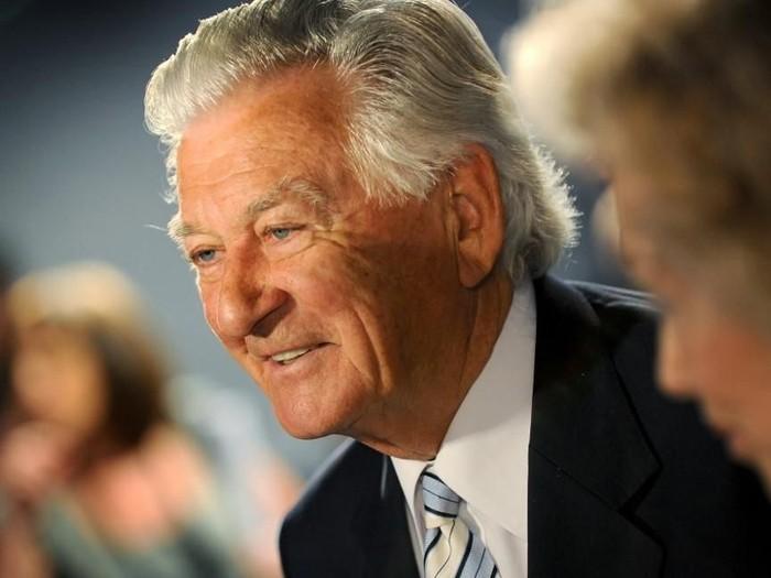 Mendiang Bob Hawke dalam foto tahun 2010 (WILLIAM WEST/AFP)