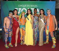 Puteri Indonesia 2019 Frederika Cull dalam rangkaian acara Miss Universe 2019 di Altanta.