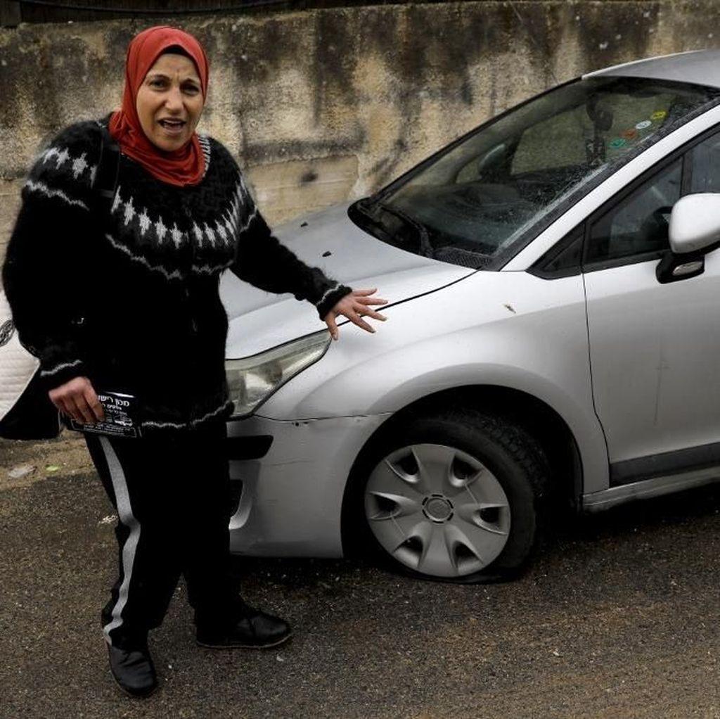 160 Mobil Warga Palestina di Yerusalem Jadi Korban Vandalisme
