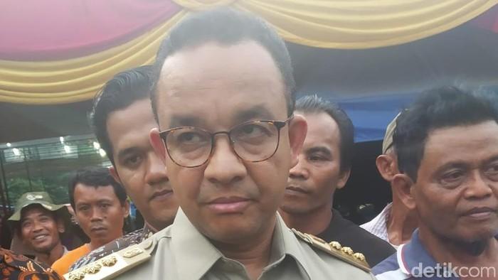 Foto: Gubernur DKI Jakarta Anies Baswedan (Rizal Bahari/detikcom)