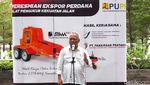 Perdana! RI Ekspor Alat Ukur Kekuatan Jalan ke Timor Leste