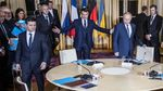 Suasana Pertemuan Putin dan Presiden Ukraina yang Bersejarah