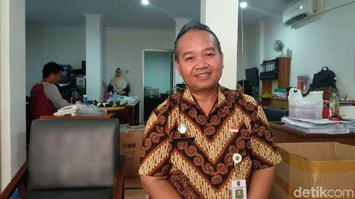Kepala Unit Pelaksana Tugas Malioboro Ekwanto (Vattaya Zahra/detikcom)