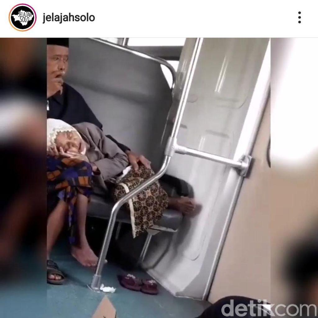 Cerita Bapernya Bu Dosen Perekam Kakek-Nenek So Sweet di KA Prameks
