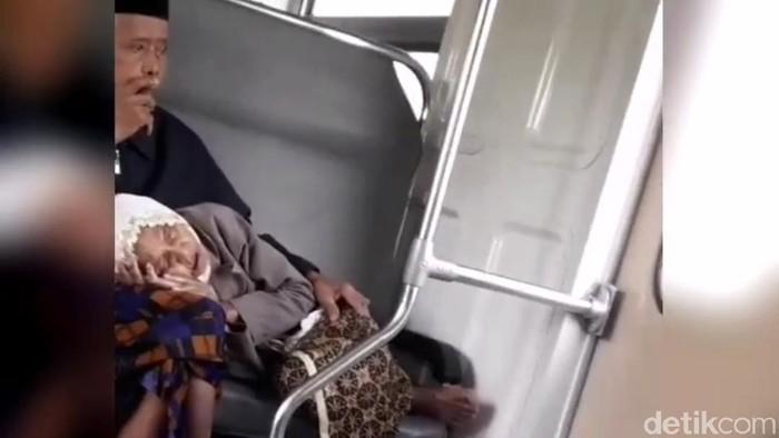 Foto: Tangkapan layar dari video di medsos