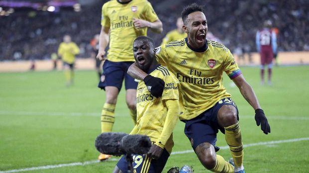 Arsenal punya peluang untuk menjegal Manchester City.