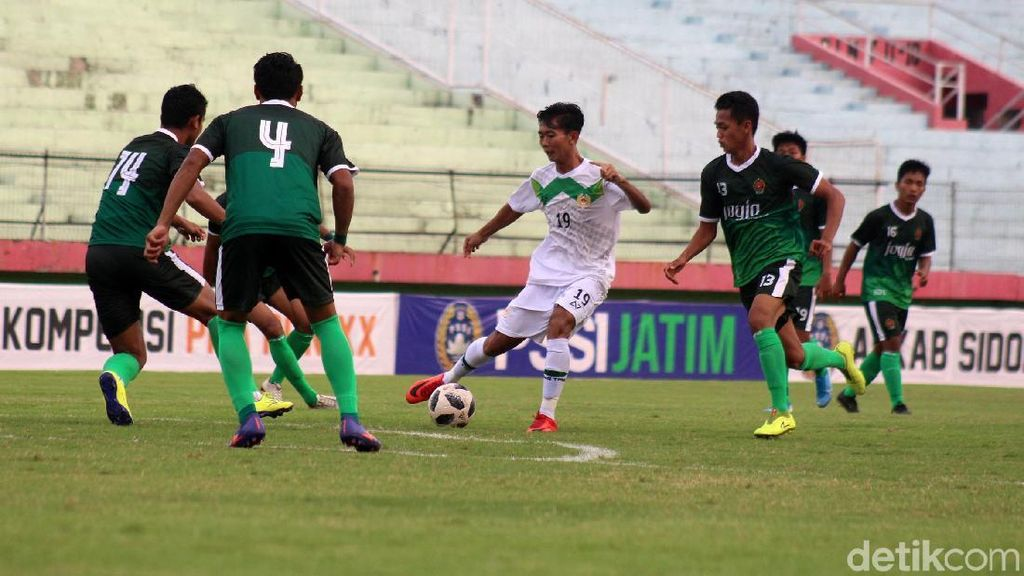 Tim Sepakbola Jatim Melenggang ke PON 2020