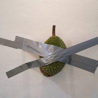Setelah Pisang, Kini Ada Durian Ditempel di Dinding Seharga Rp 1,6 Miliar