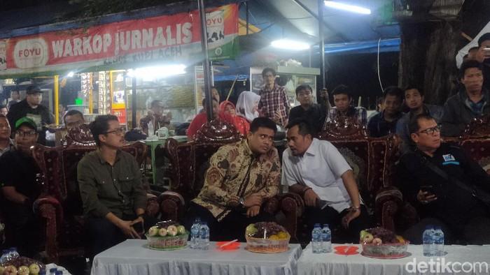 Bobby Nasution mengaku berniat maju ke Pilwalkot Medan untuk memajukan Medan (Budi Warsito/detikcom)