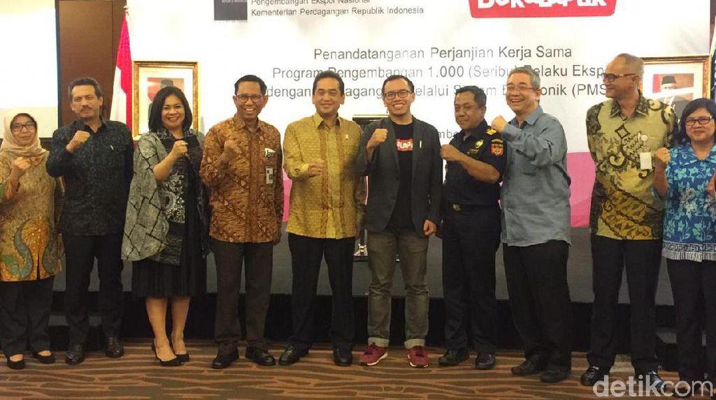 Lewat e-Commerce, 1.000 UMKM Bakal Ekspor Produk RI ke 5 Negara