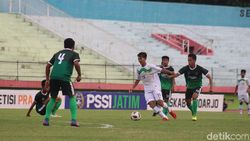 Kalahkan DIY 3-0, Tim Sepakbola Jatim Lolos ke PON 2020
